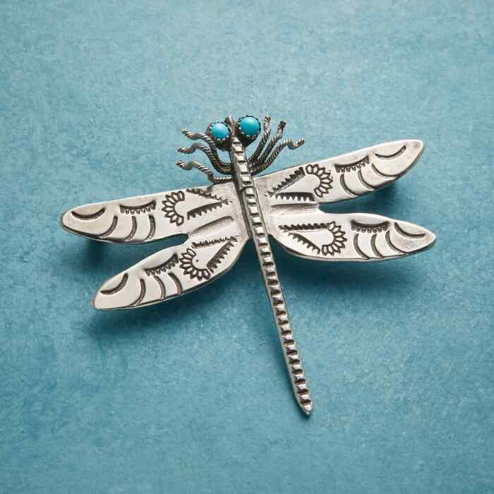 TIMELESS COMPANION DRAGONFLY PIN