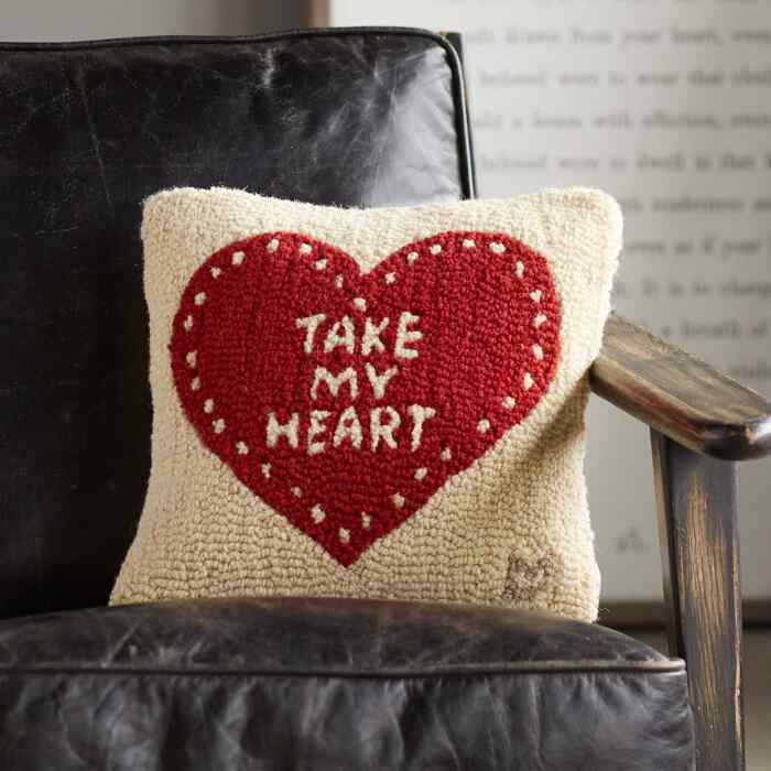 TAKE MY HEART PILLOW