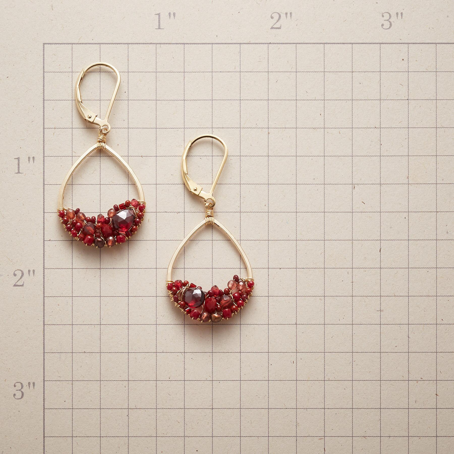 CRIMSON MIX EARRINGS: View 2