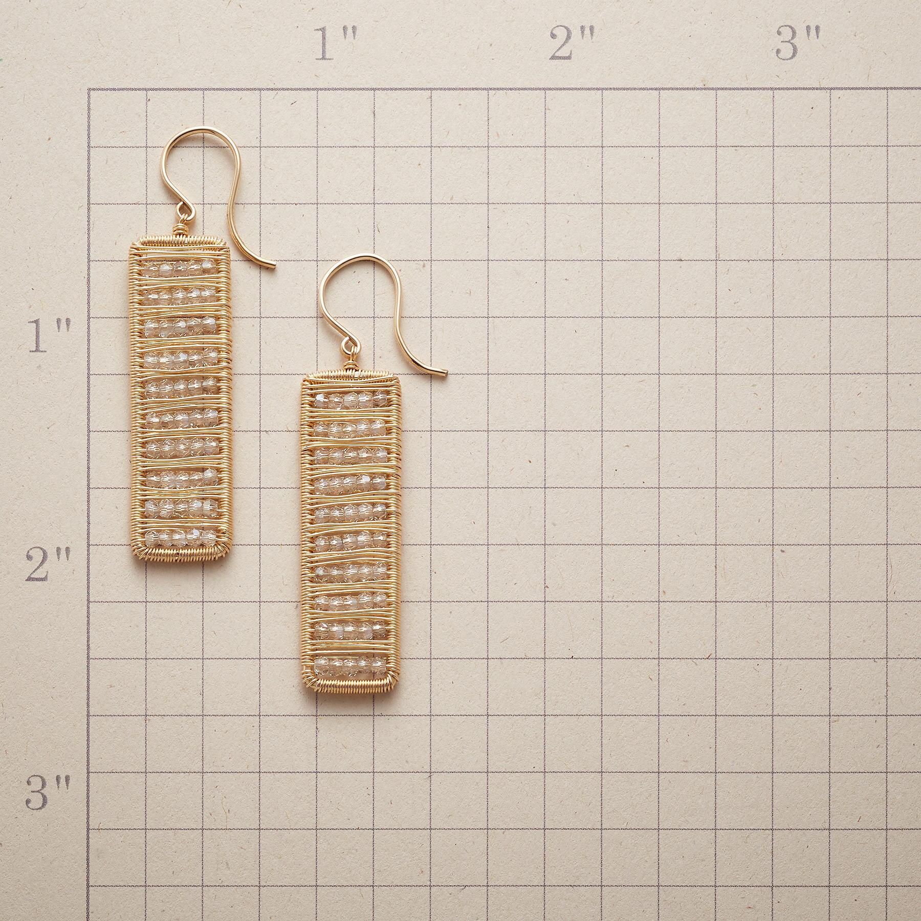 CRYSTAL ABACUS EARRINGS: View 2