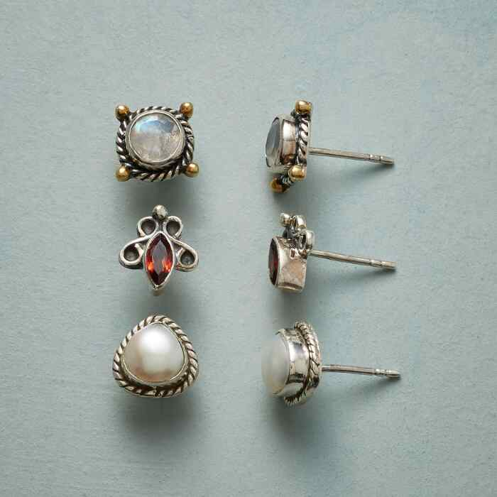 ALL SET EARRING TRIO