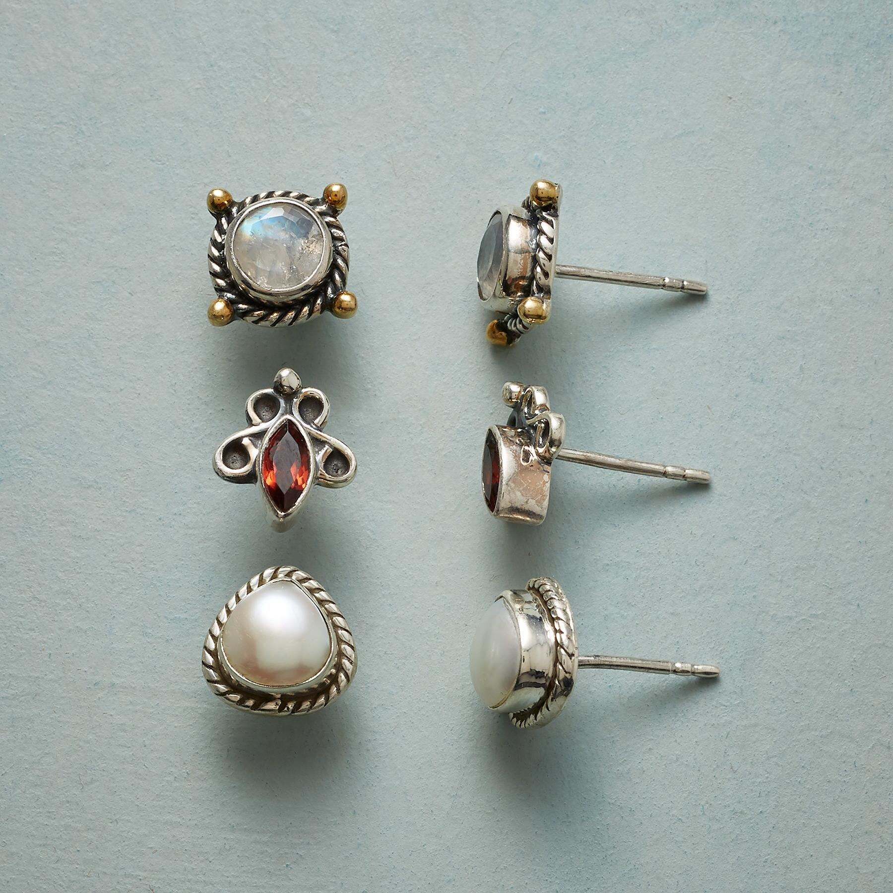 ALL SET EARRING TRIO: View 1