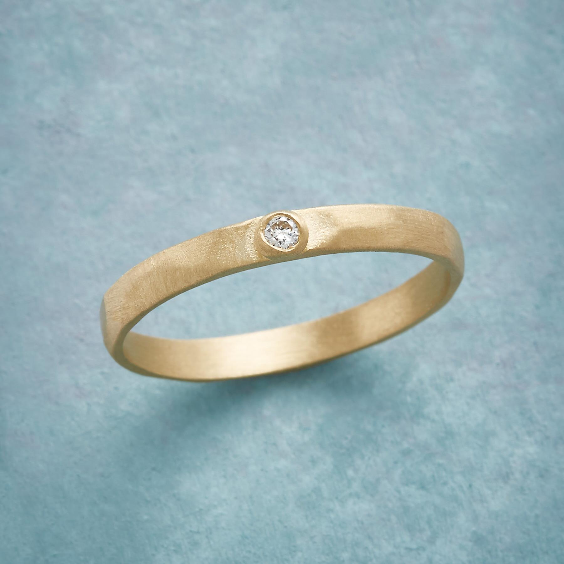 SIMPLE IS BEST DIAMOND RING: View 1