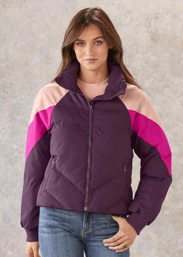 BLACKBERRY PUFFER COAT