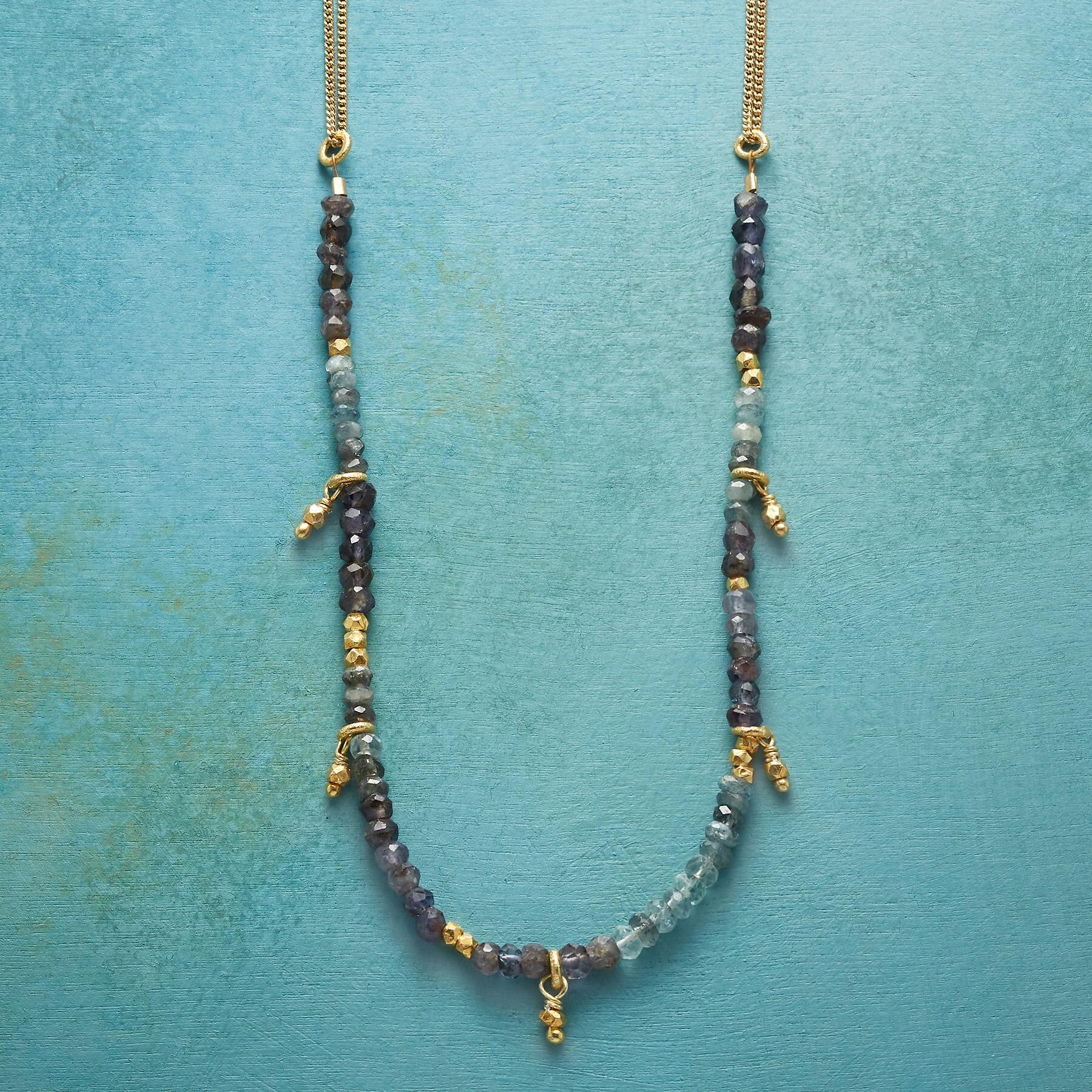 BOHEMIAN BLUES NECKLACE: View 1