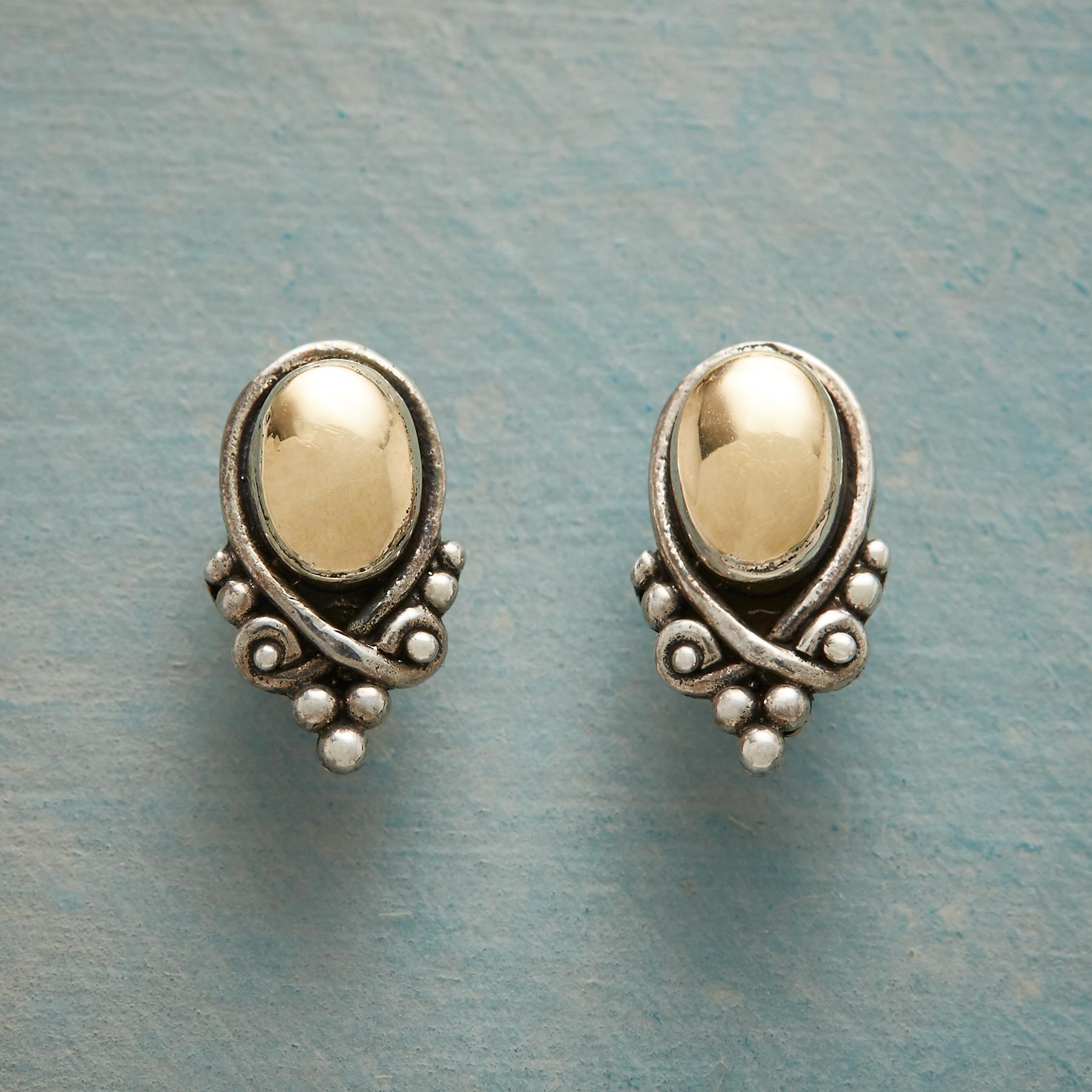 TOUCH OF REFINEMENT EARRINGS: View 1