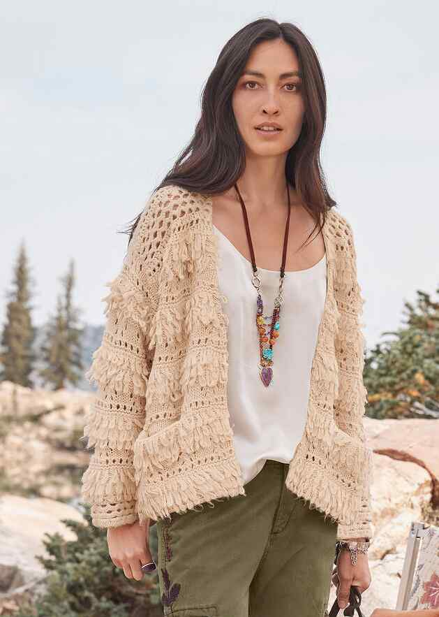 NATURAL WONDERS CARDIGAN
