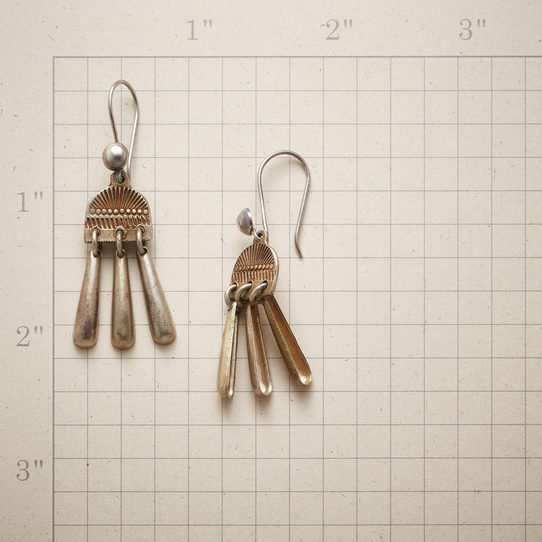 STERLING RAINFALL EARRINGS: View 2
