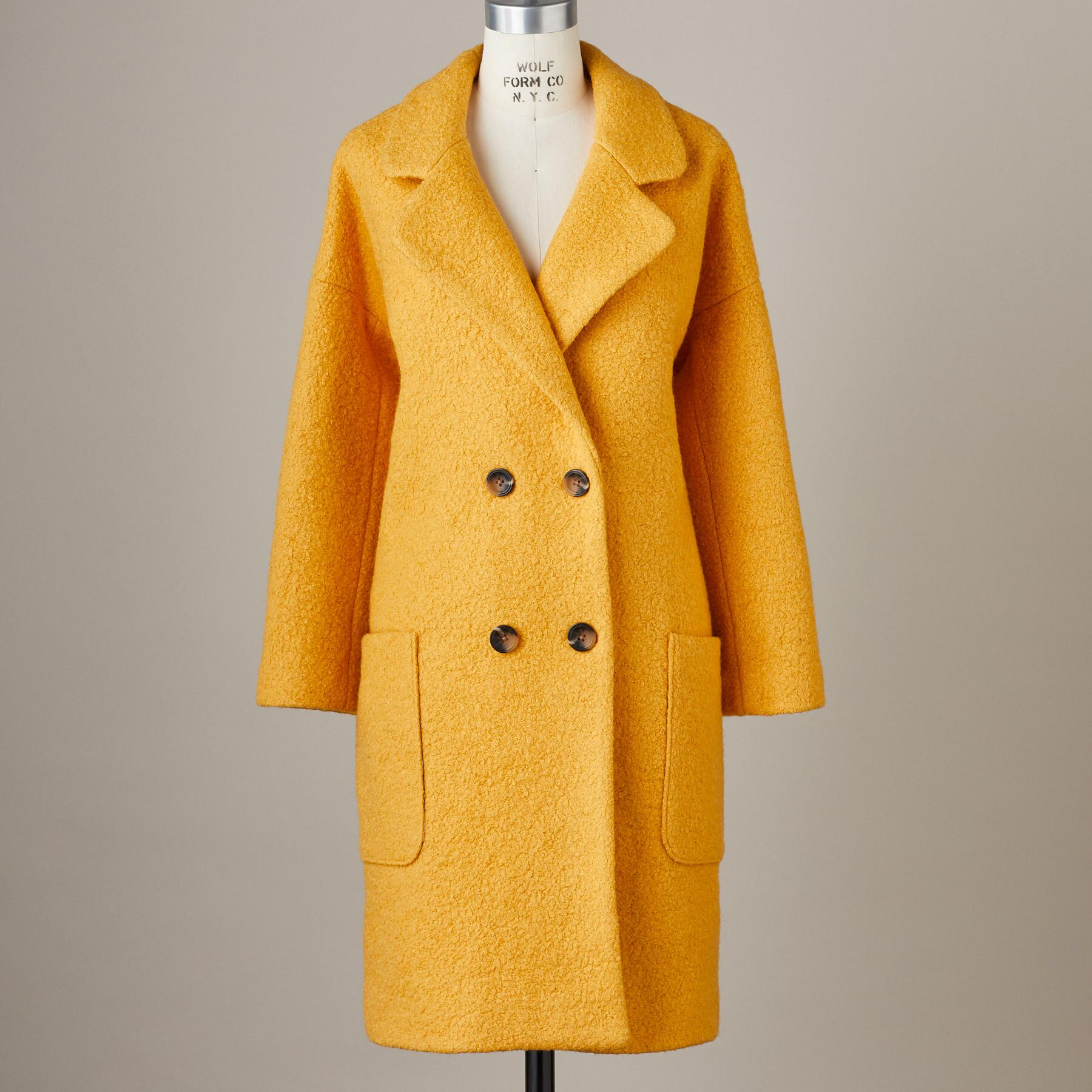 CARLY BOUCLÉ COAT: View 3