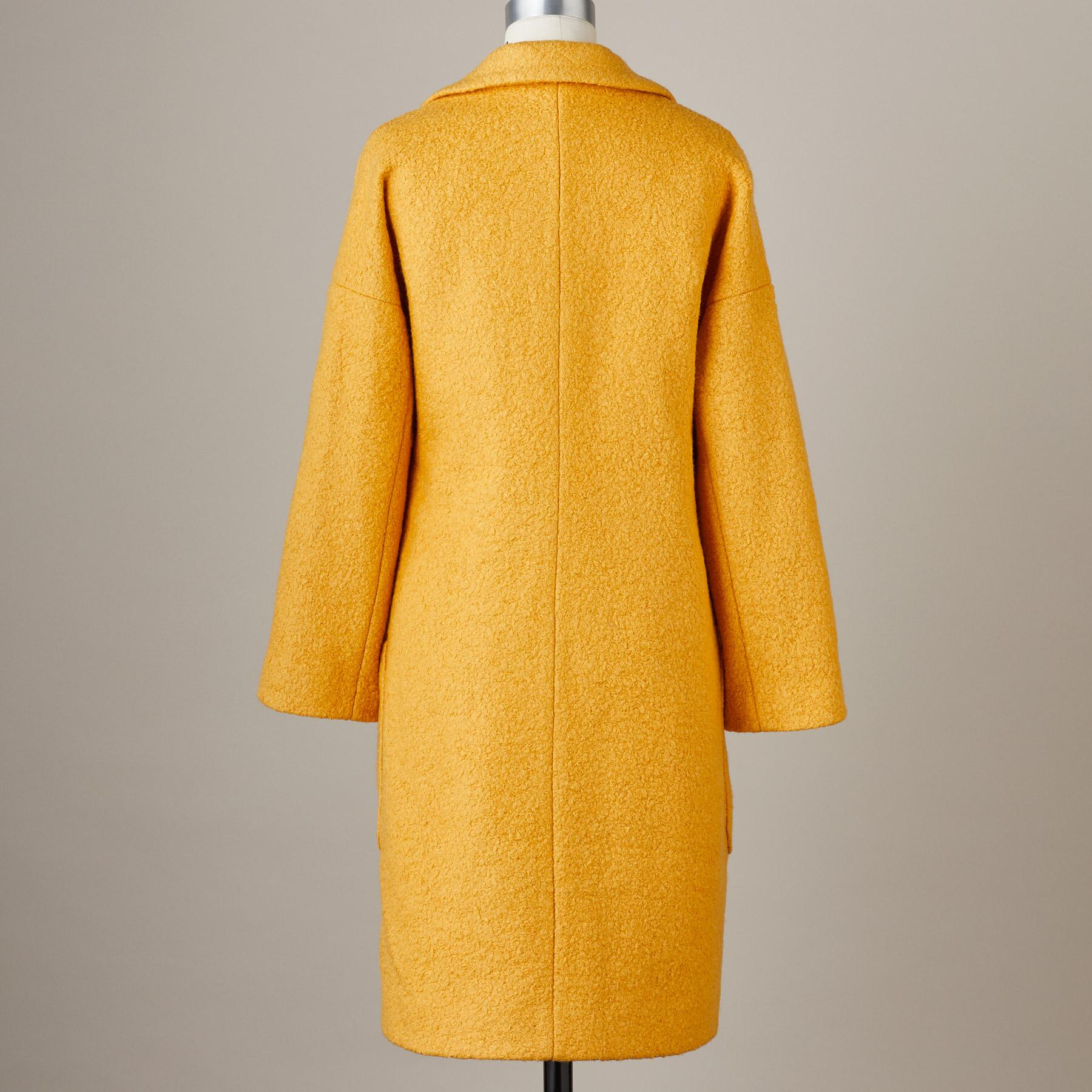 CARLY BOUCLÉ COAT: View 4