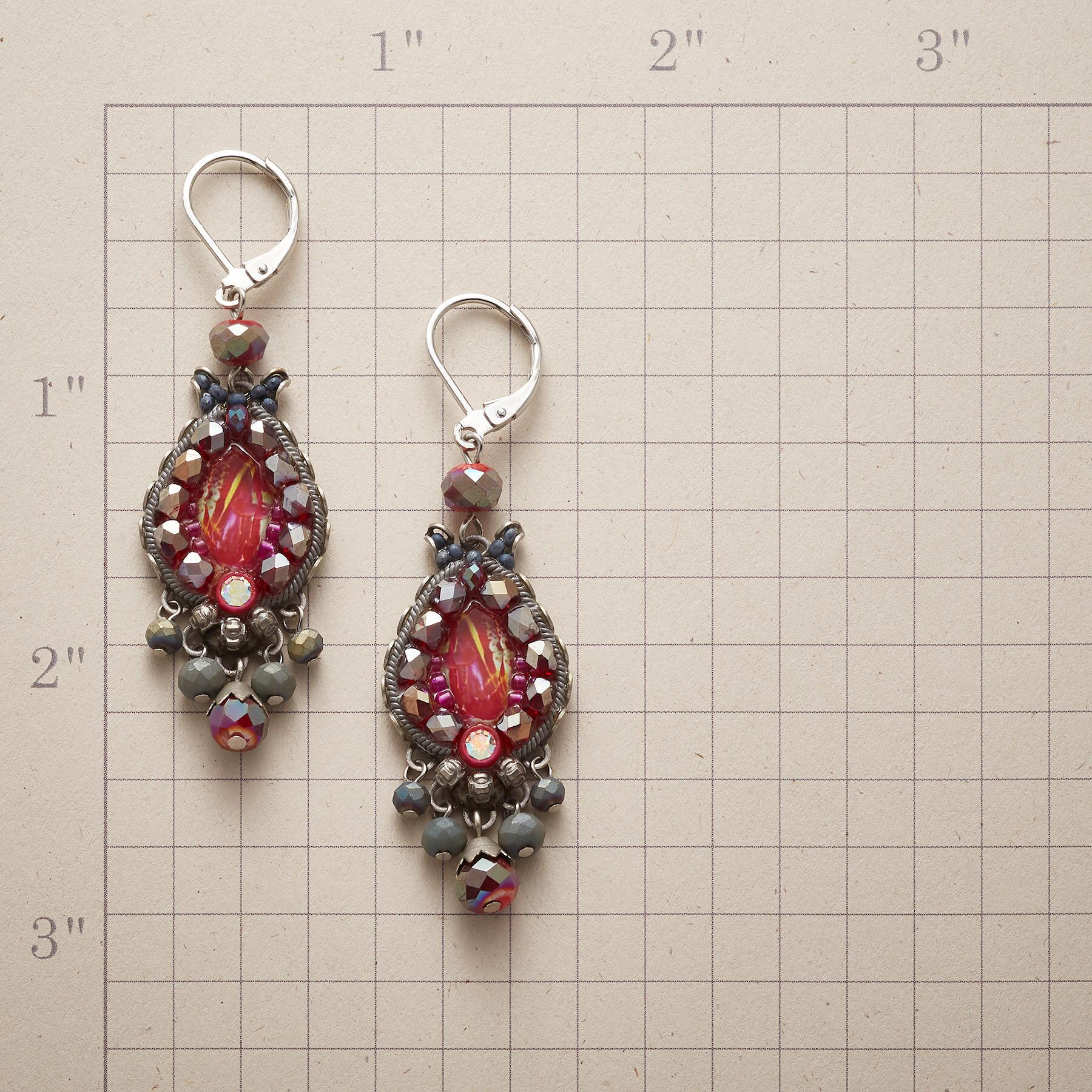 BERRY BRIGHT EARRINGS: View 2