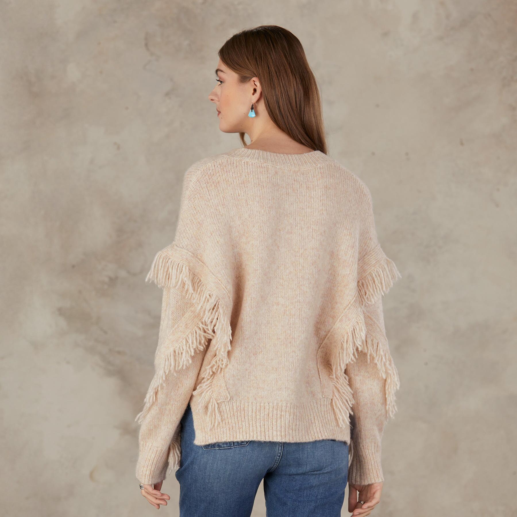GO WEST V-NECK SWEATER: View 2
