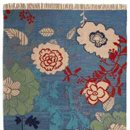 CHELSEA MORNING KILIM RUG, LARGE
