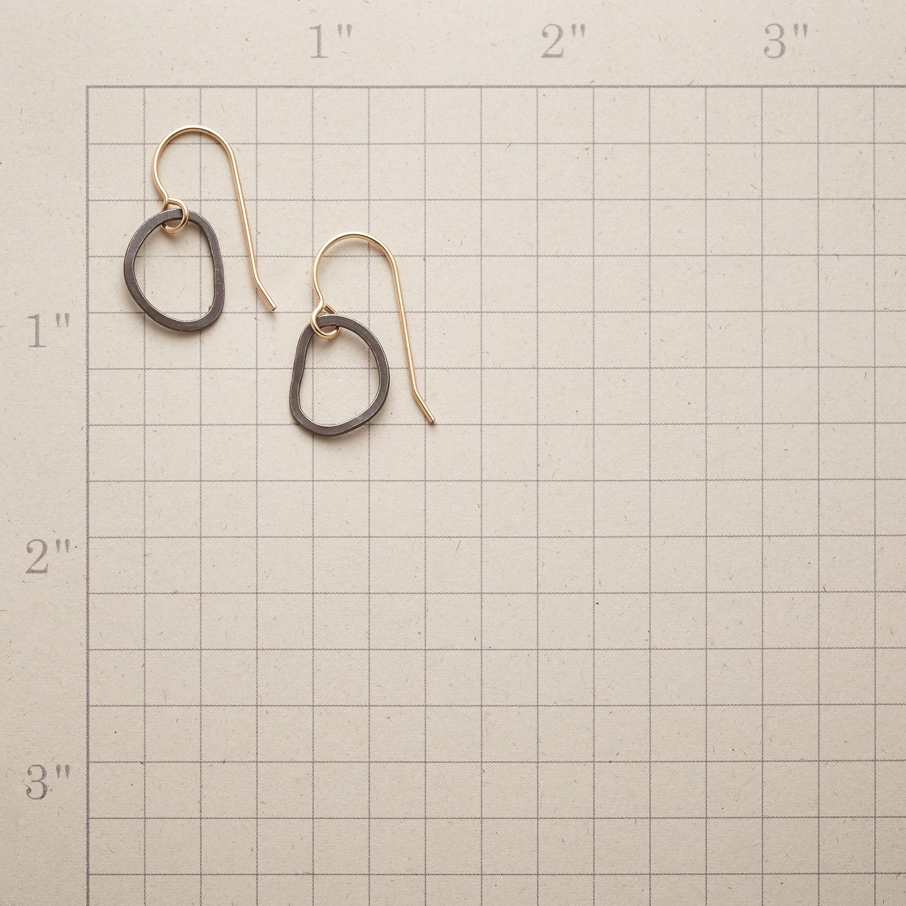 ALMOST OVAL EARRINGS: View 2