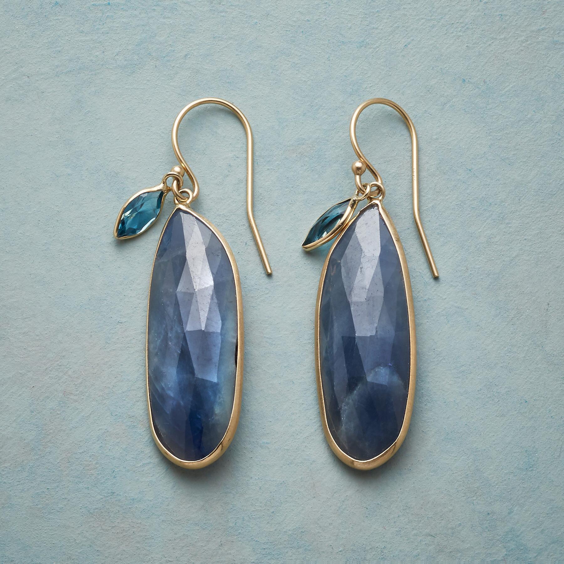 SAPPHIRE BLUES EARRINGS: View 1