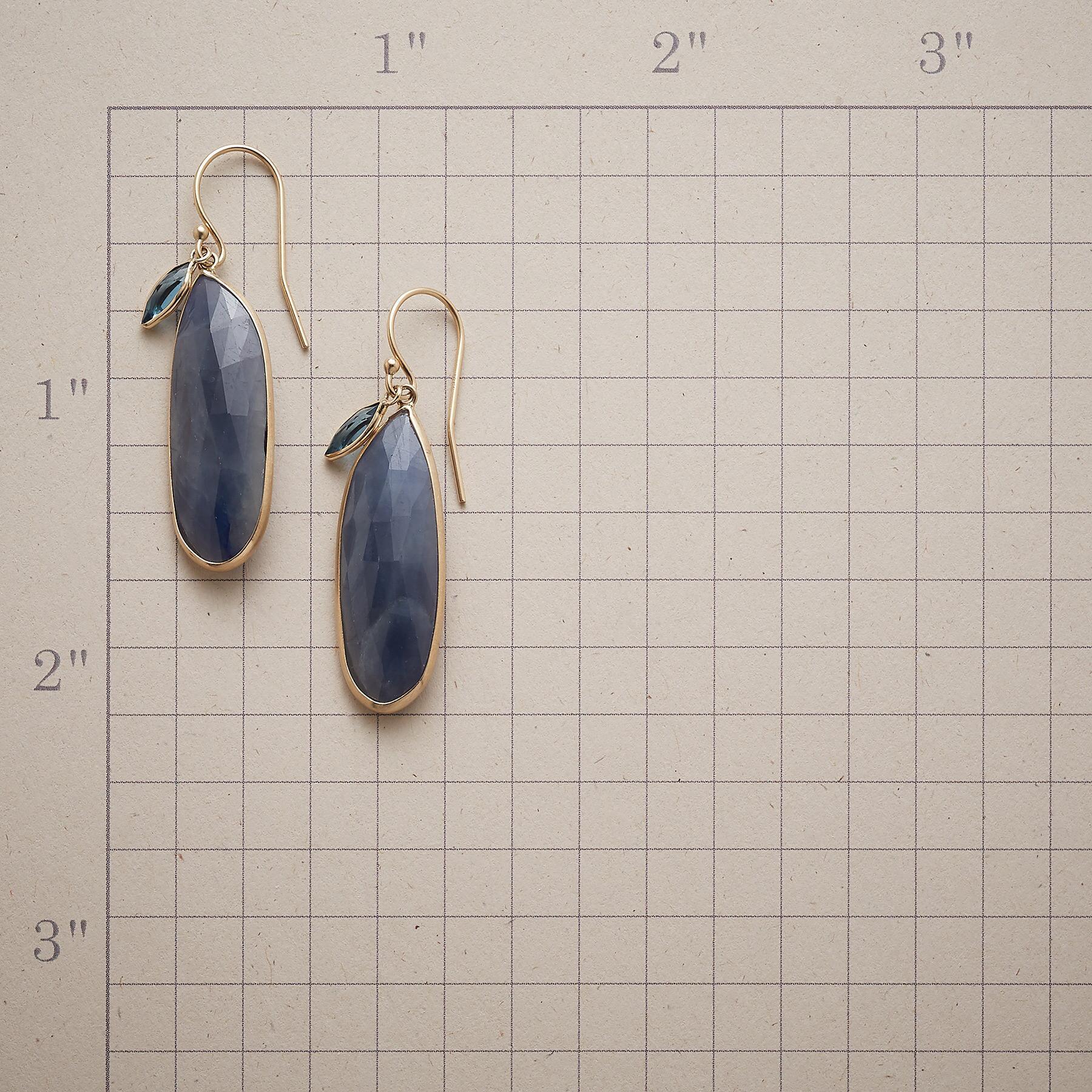 SAPPHIRE BLUES EARRINGS: View 2