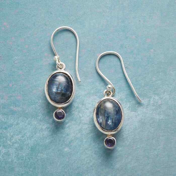 BLUE ECHO EARRINGS