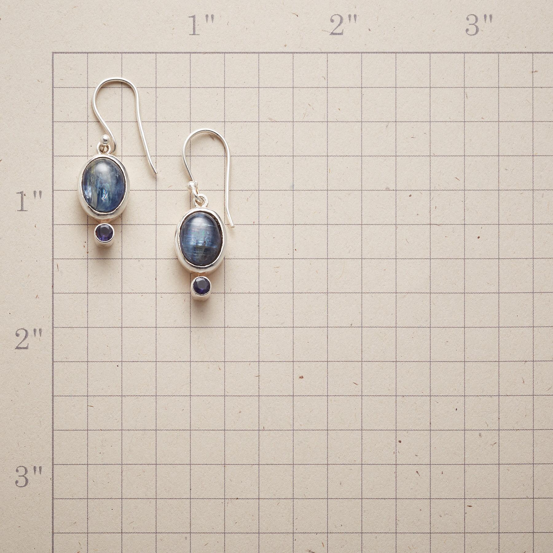 BLUE ECHO EARRINGS: View 2