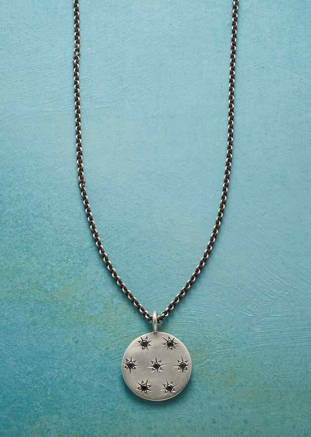 MIDNIGHT STARS NECKLACE