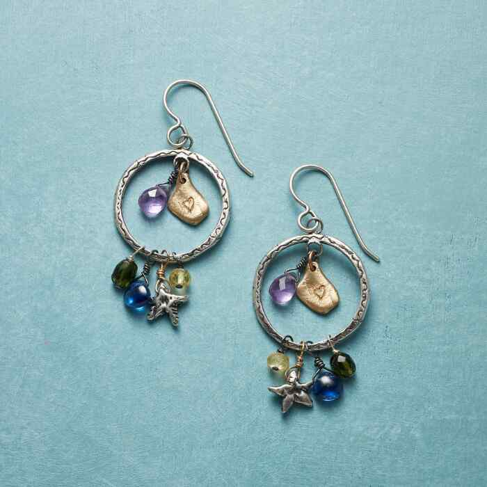 NIGHT SHADOW EARRINGS