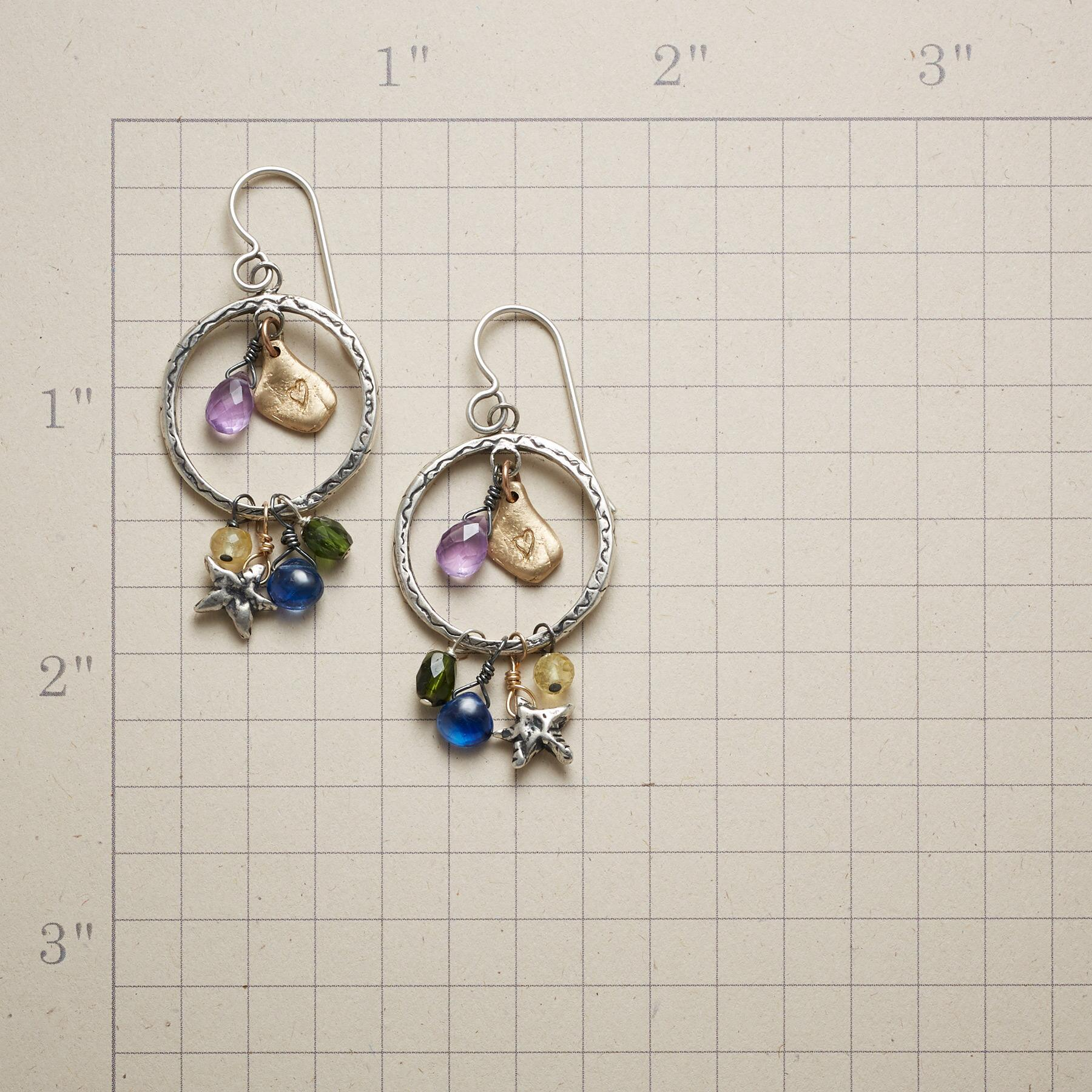 NIGHT SHADOW EARRINGS: View 2