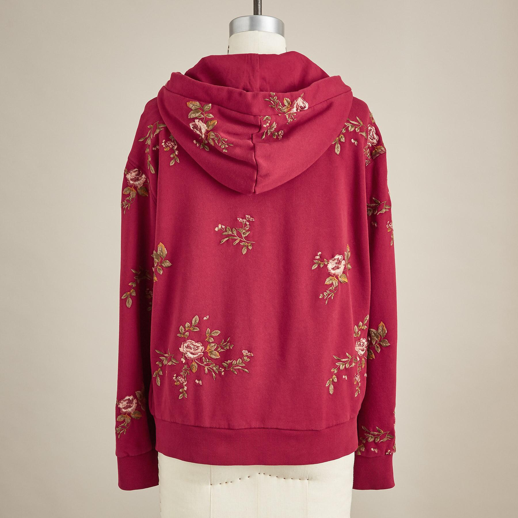 EMMA EMBROIDERED HOODIE: View 4