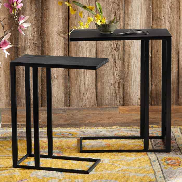 KEARNS NESTING TABLES, SET OF 2