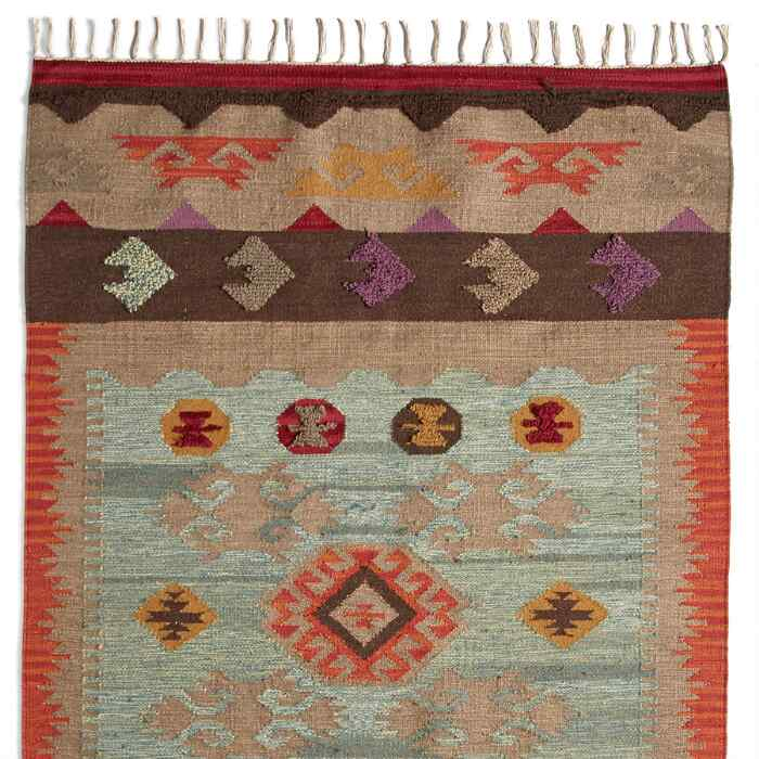WATER'S EDGE DHURRIE RUG