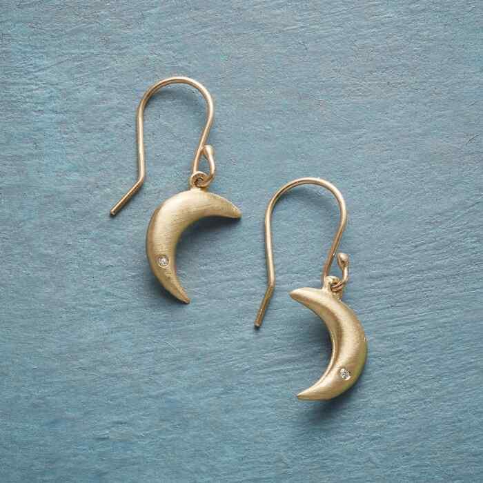 DIAMOND MOONLIGHT EARRINGS