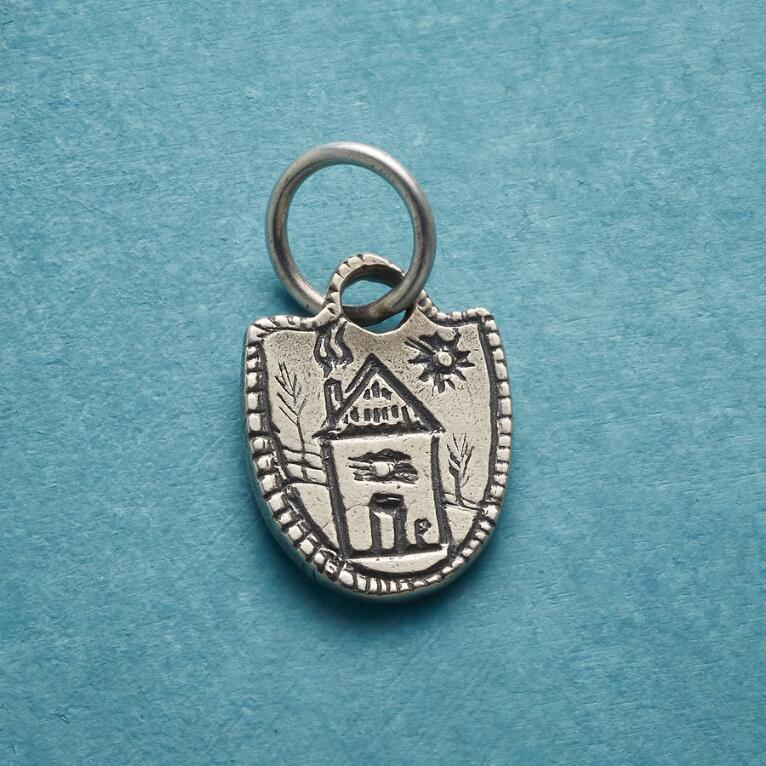 STERLING SILVER HOME SWEET HOME CHARM