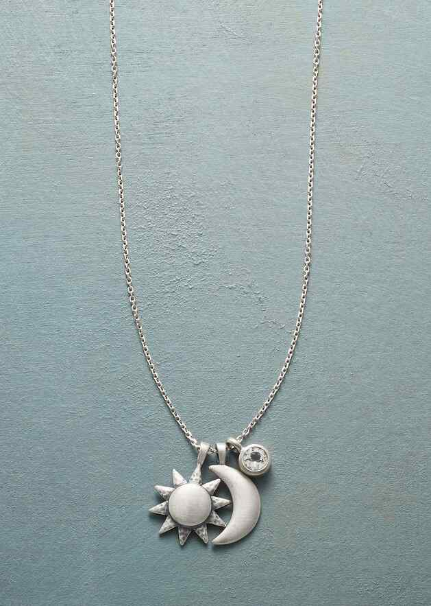 STERLING SILVER UNIVERSALLY LOVED NECKLACE