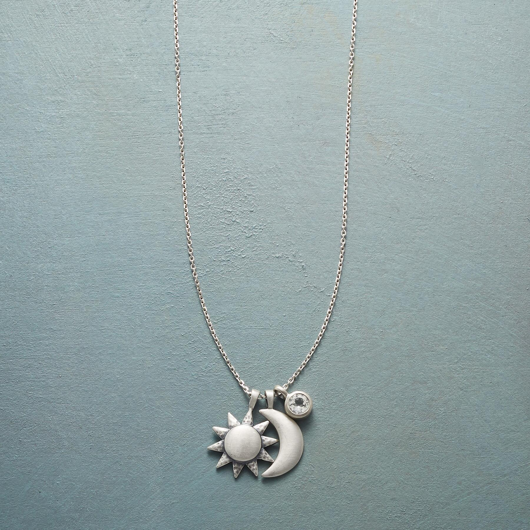 STERLING SILVER UNIVERSALLY LOVED NECKLACE: View 1