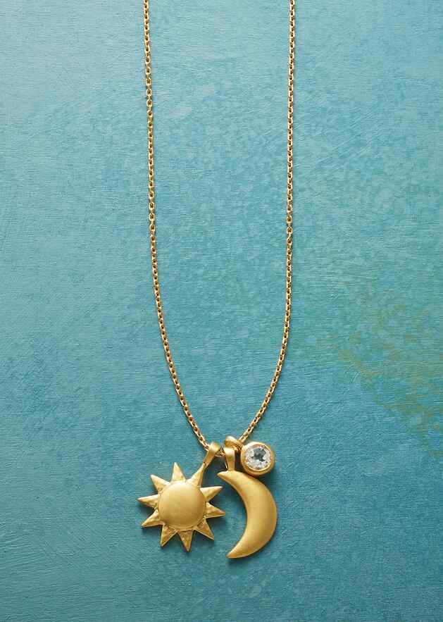GOLD PLATE UNIVERSALLY LOVED NECKLACE