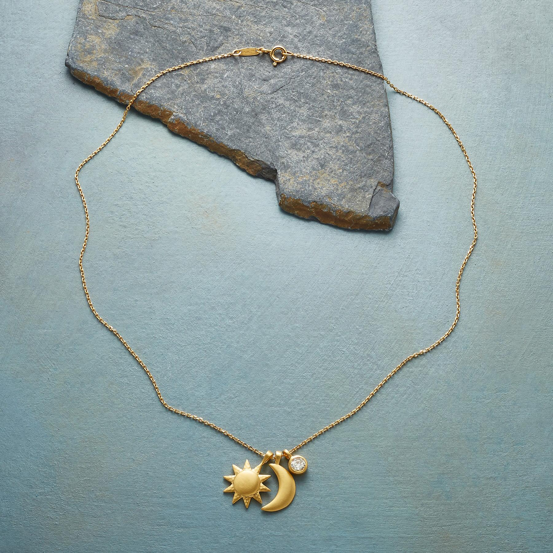 GOLD PLATE UNIVERSALLY LOVED NECKLACE: View 2