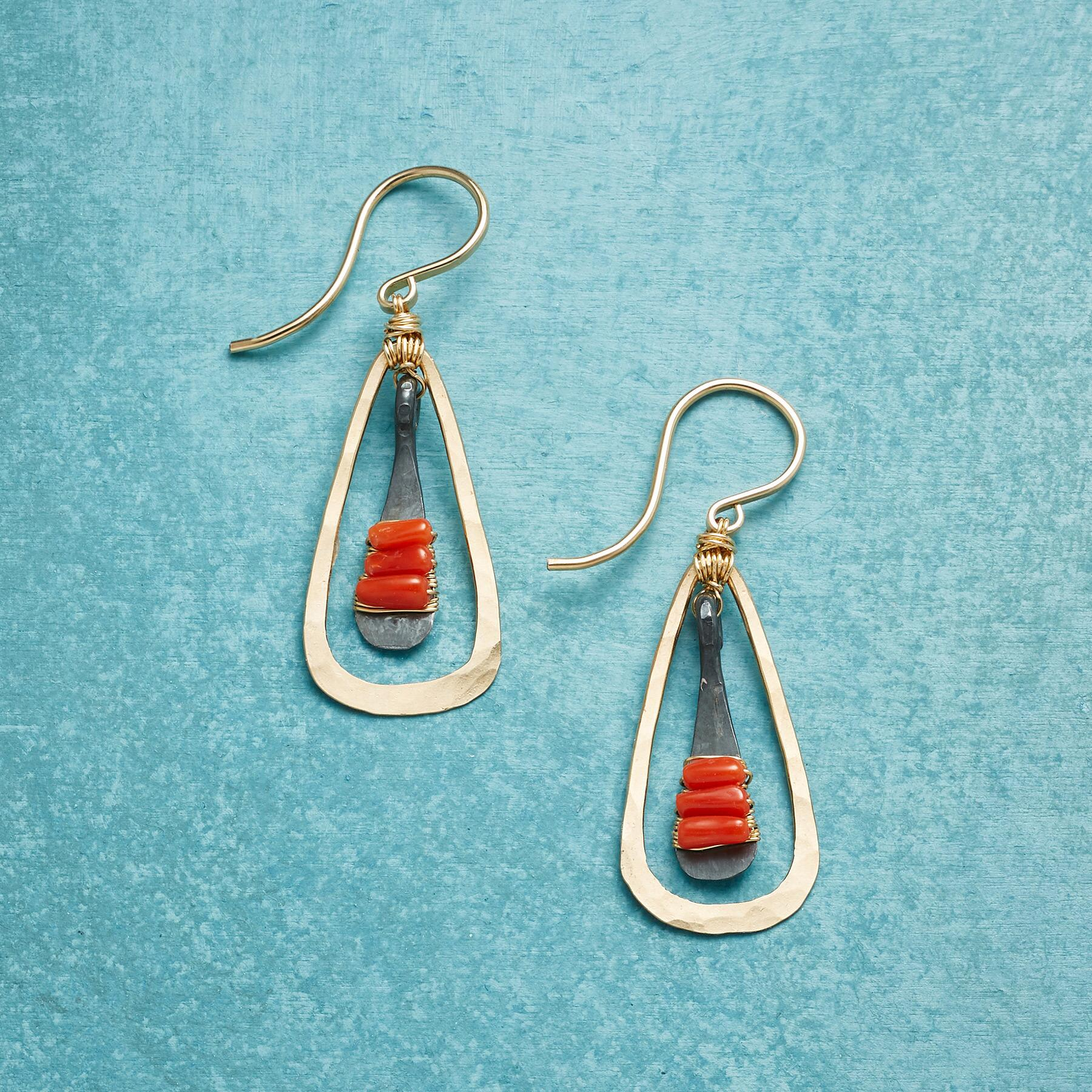 CORAL BELLS EARRINGS: View 1