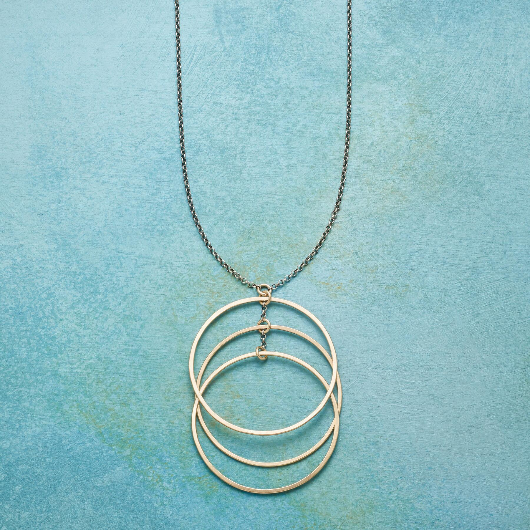 SONIC CIRCLES NECKLACE: View 1