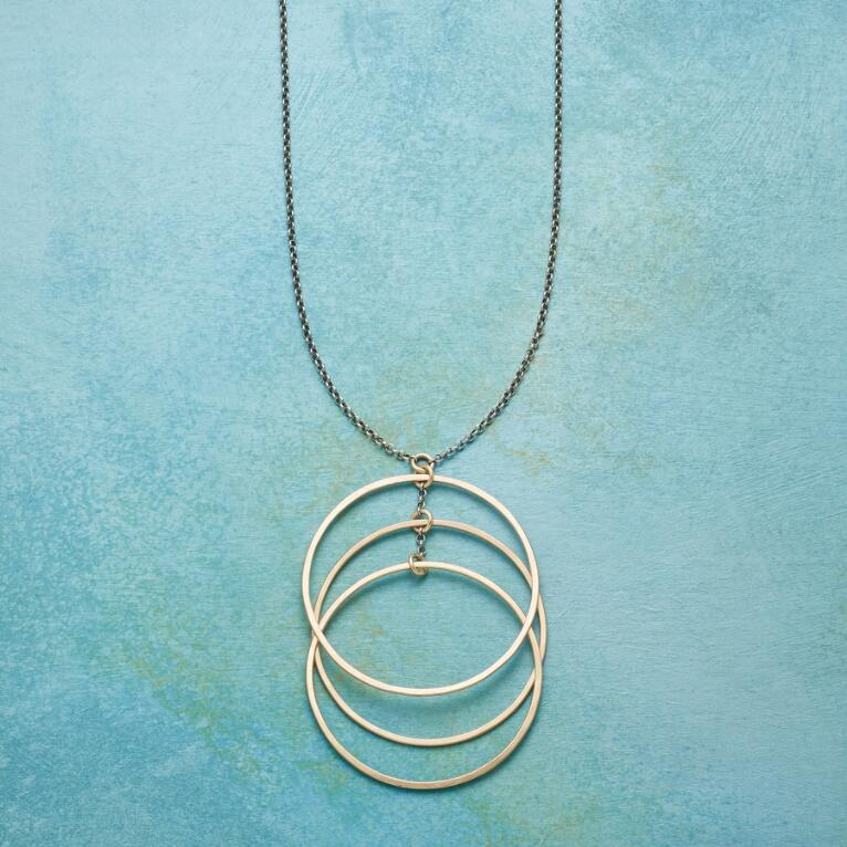 SONIC CIRCLES NECKLACE
