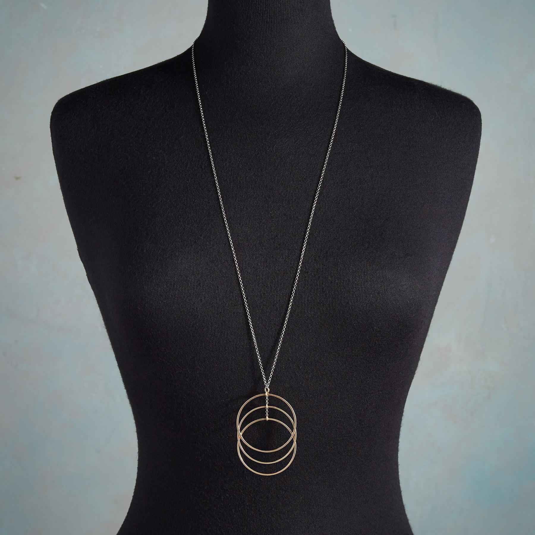 SONIC CIRCLES NECKLACE: View 3