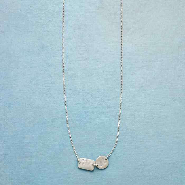 PAIRED IMPERFECTION NECKLACE