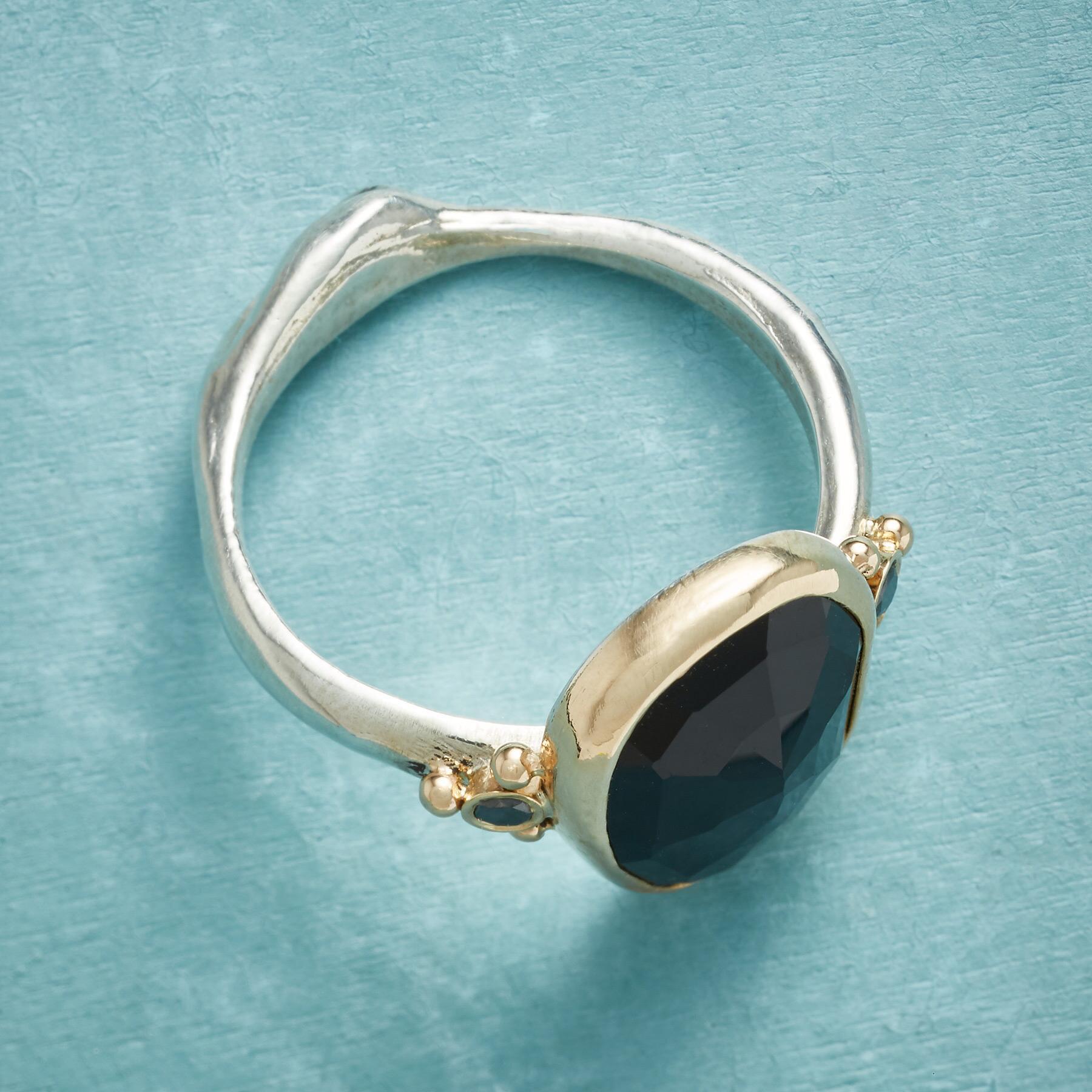 BLACK ROSE GARDEN RING: View 2