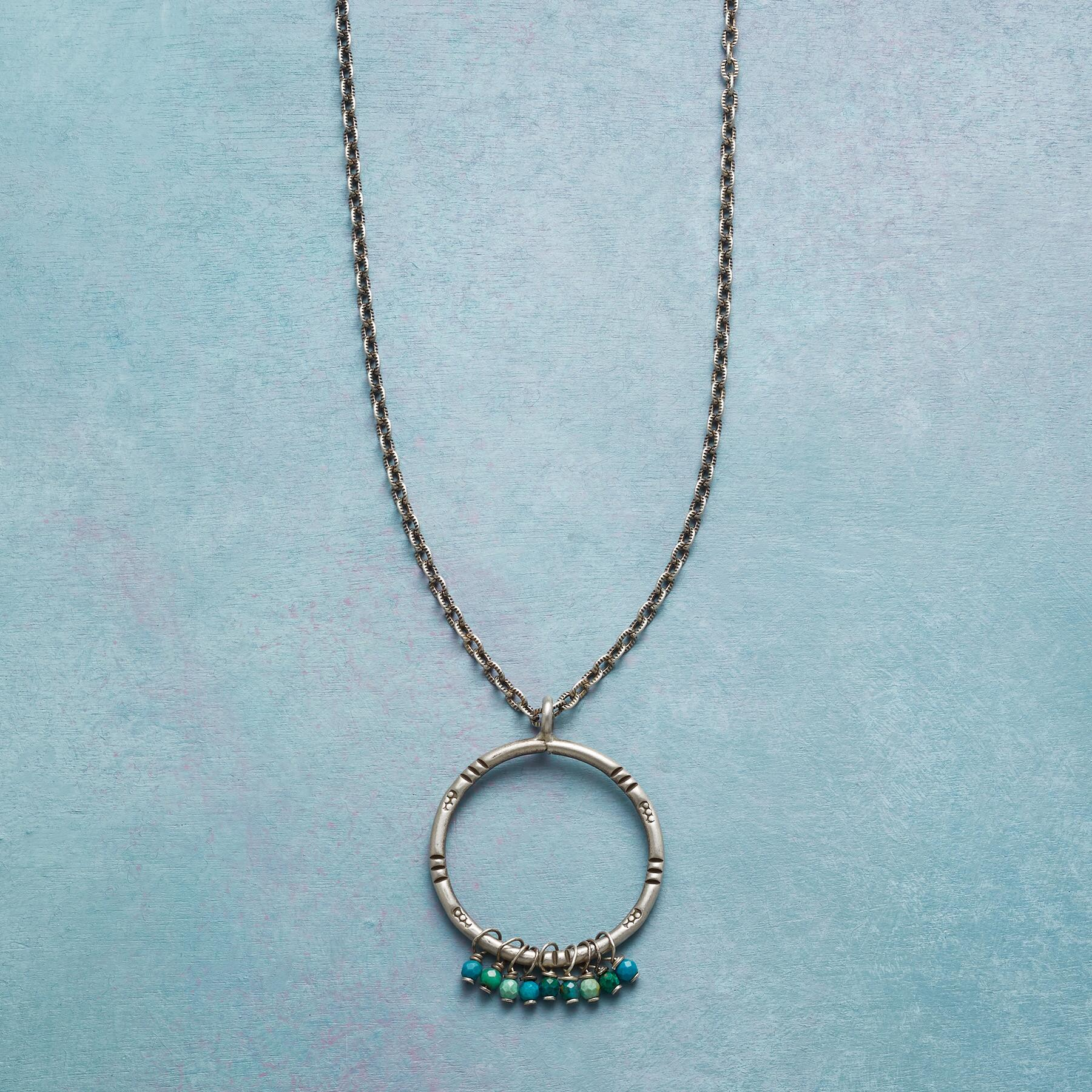 CHROMATIC CHRYSOCOLLA NECKLACE: View 1