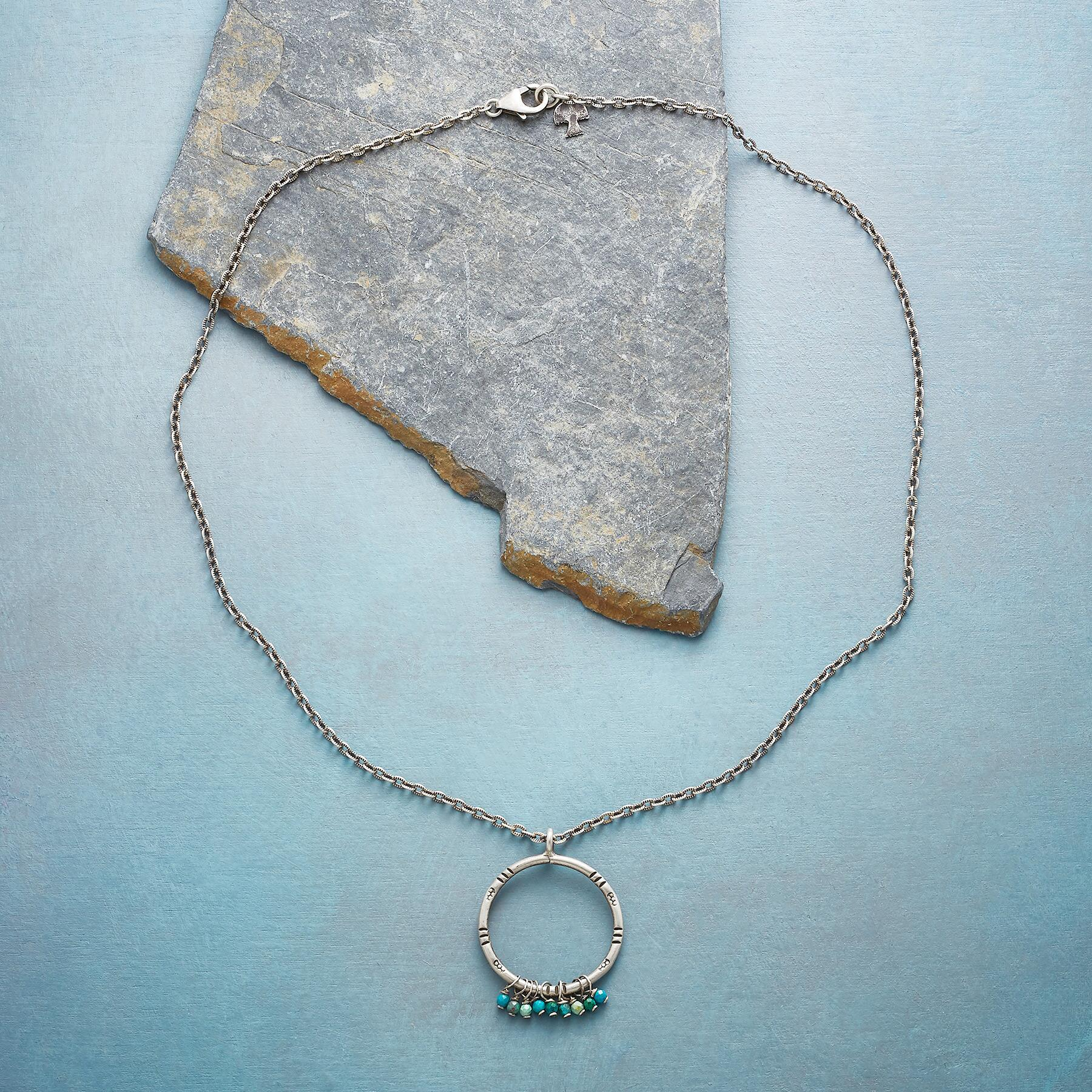 CHROMATIC CHRYSOCOLLA NECKLACE: View 2