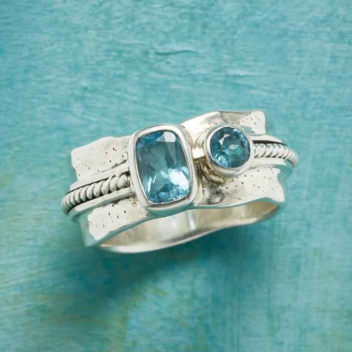 BLUE BY BLUE RING
