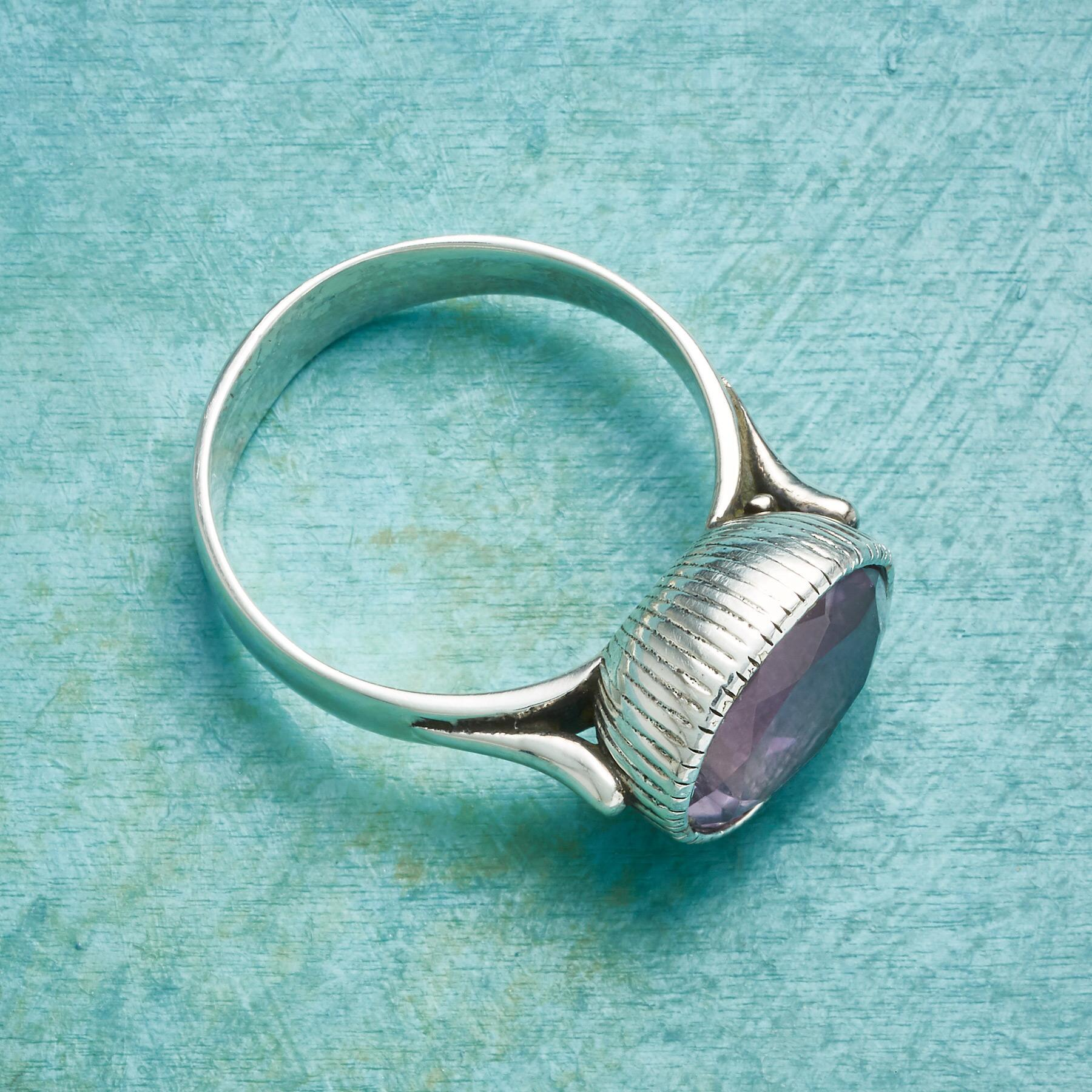 AMETHYST CHALICE RING: View 2