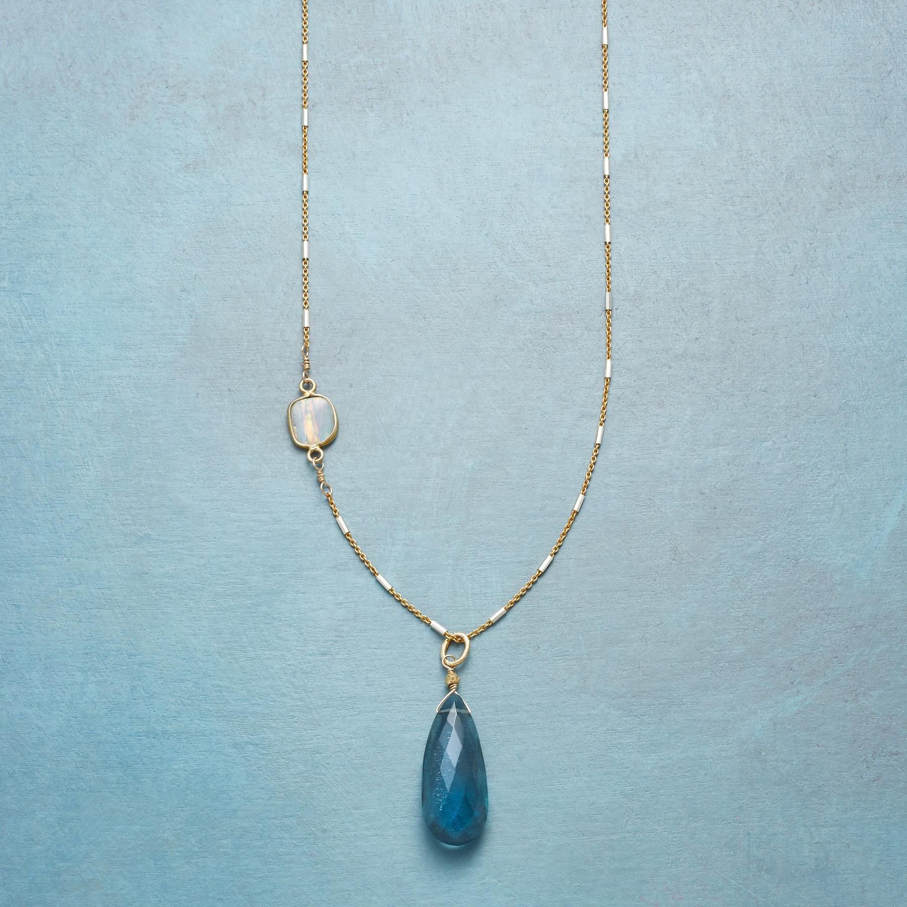 OPAL SIDELIGHT NECKLACE: View 1