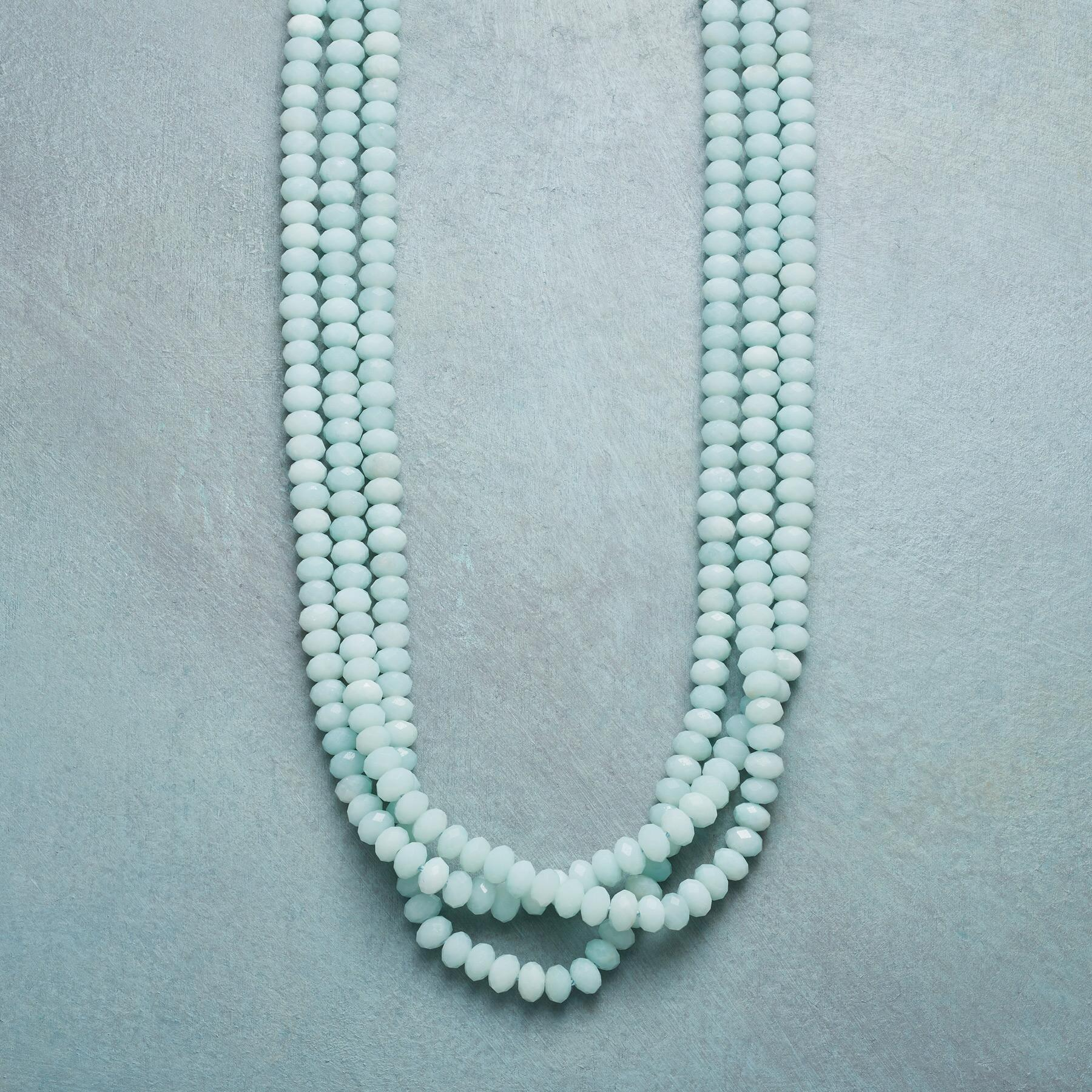 AMAZONITE WATERFALL NECKLACE: View 1