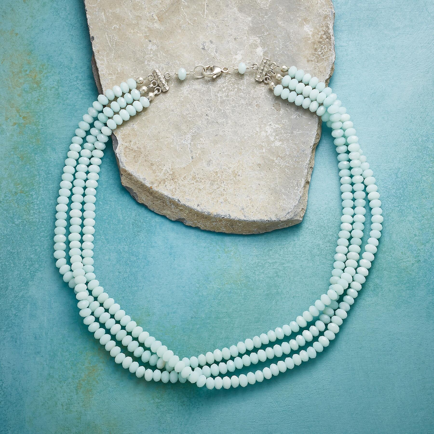 AMAZONITE WATERFALL NECKLACE: View 2