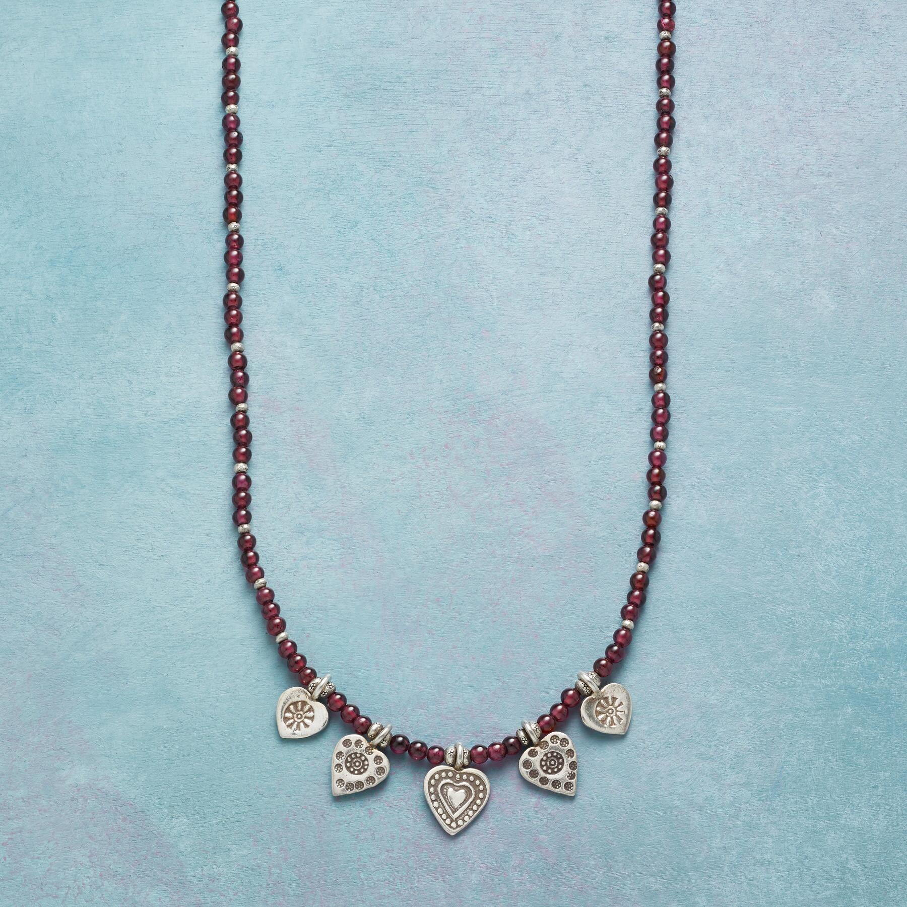 LOVE'S CHARM NECKLACE: View 1
