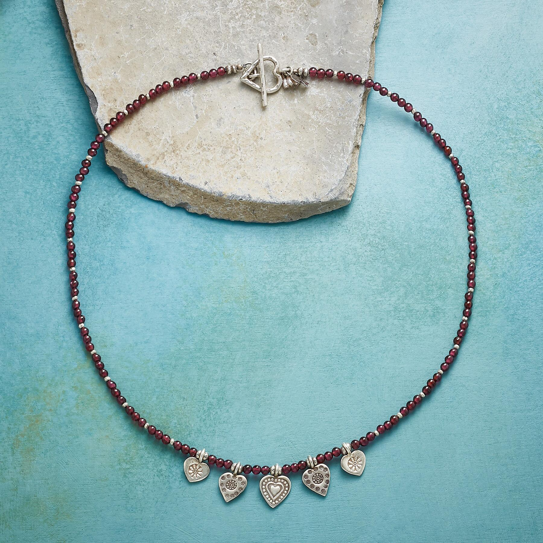 LOVE'S CHARM NECKLACE: View 2