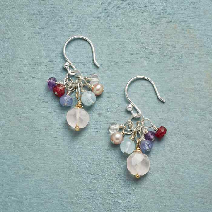 BLUSHED BUBBLY EARRINGS